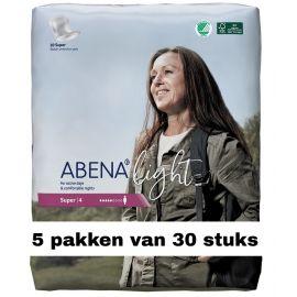 Abena Light Super   5 pakken van 30 stuks