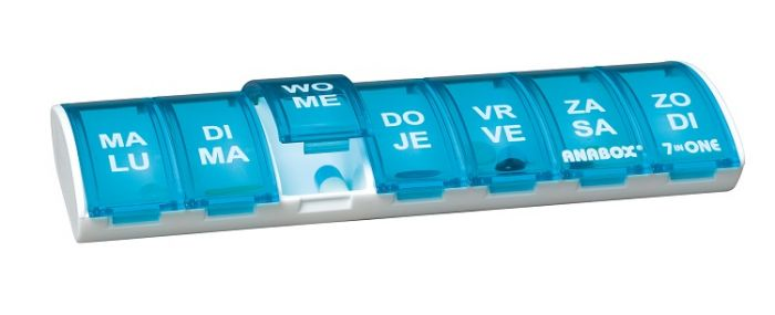 Medicijndoosje Anabox (weekbox)