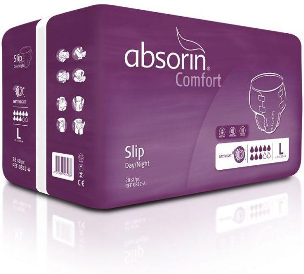 Absorin Comfort Slip Day Night LARGE