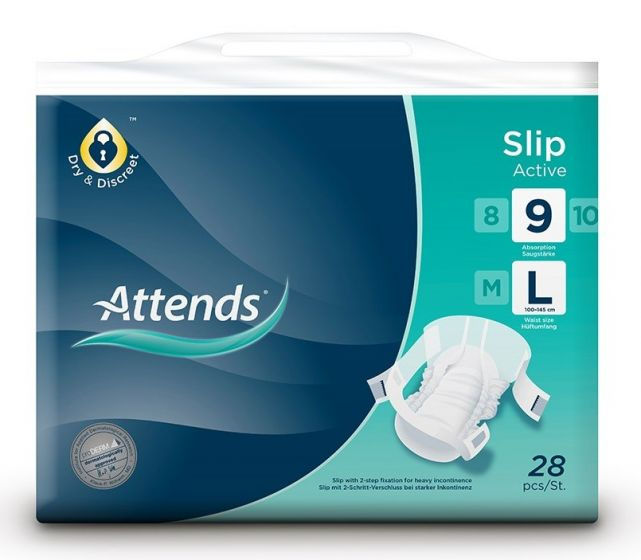 Attends Slip Active 9 L
