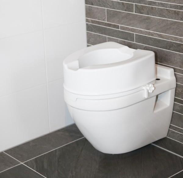 Met een toiletverhoger kunt u rustiger, veiliger zitten en weer opstaan