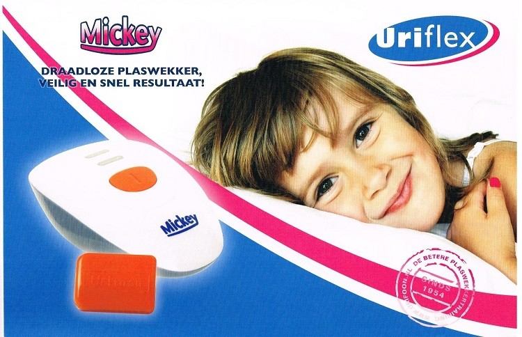 plaswekker mickey urifoon